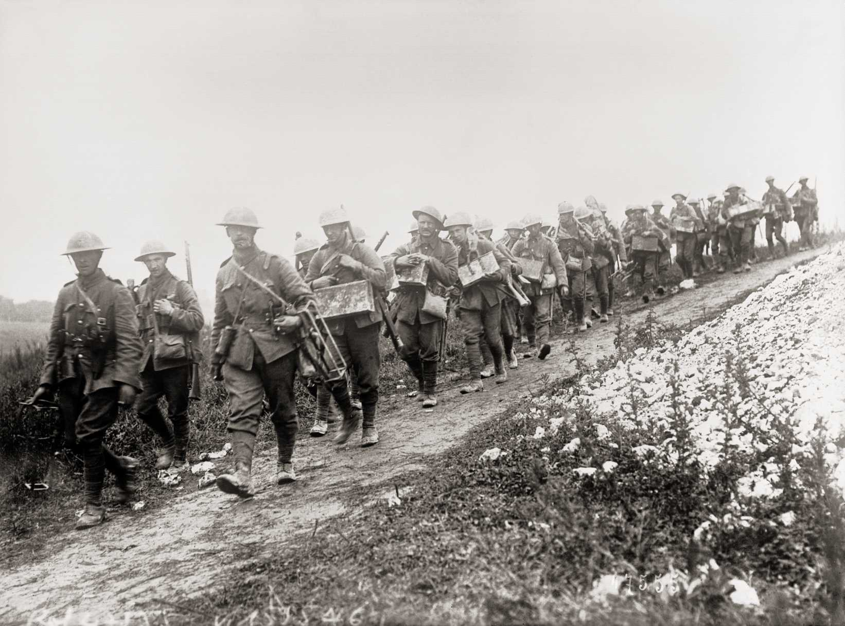 British offensive in the Somme (1916)
