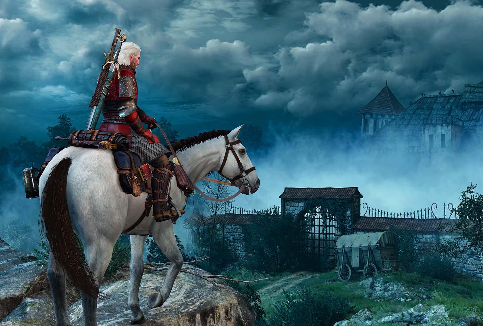 Geralt, The Witcher III (Wild Hunt), 2015