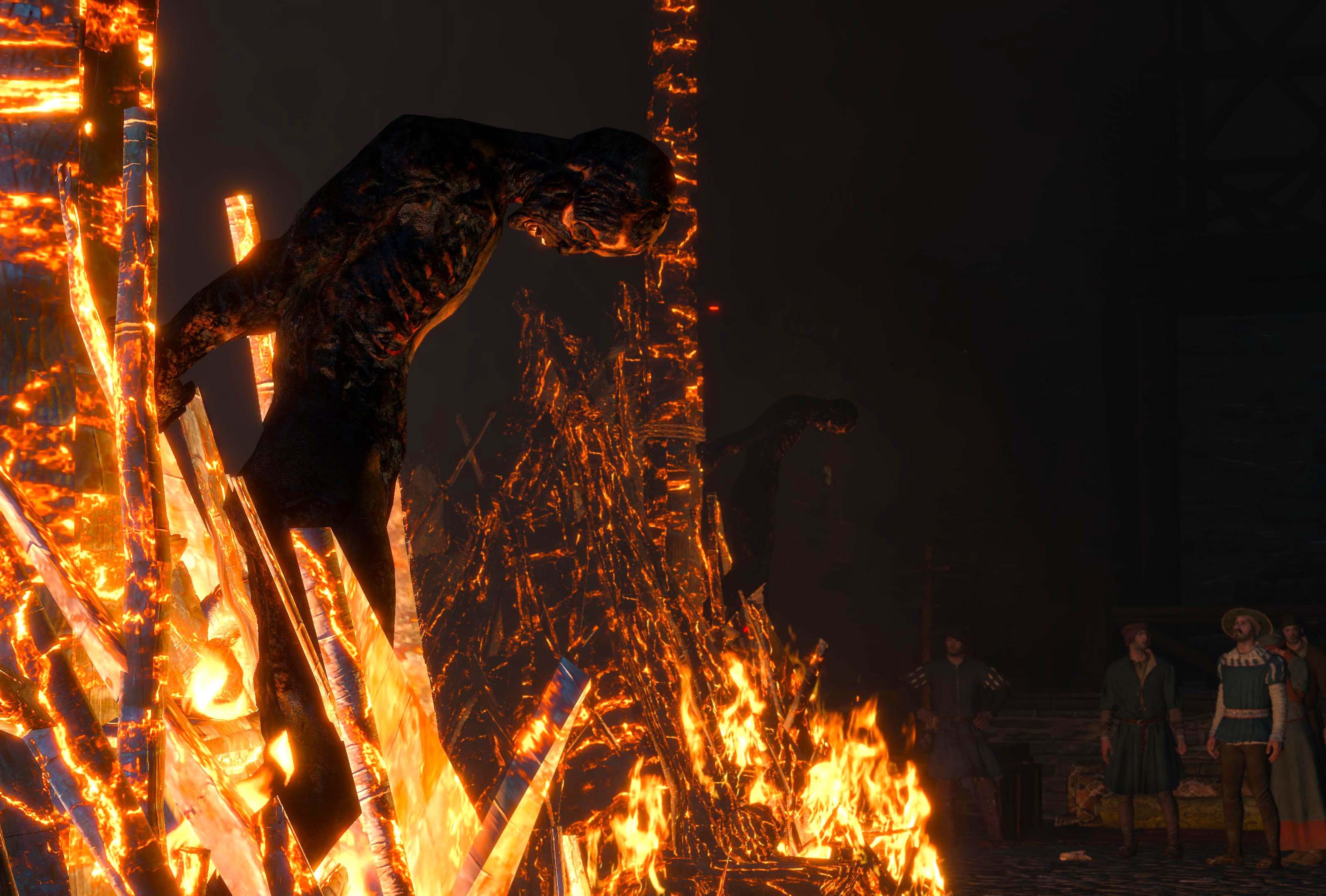 Les bûchers de Novigrad, The Witcher III (Wild Hunt), 2015
