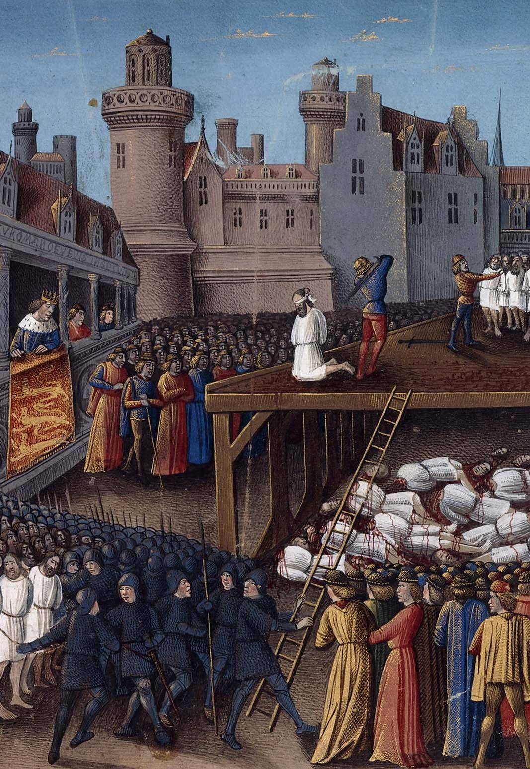Exécution de prisonniers Turcs (1474-1475)