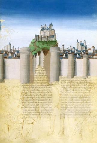 The Siege of Troy, <em>Histoire de la destruction de Troye la grant</em>, written by Guido delle Colonne and illuminated by Jean Colombe (15th-16th century)