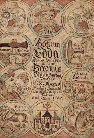 Edda de Snorri, <i>Eddukvæði</i> (1764)
