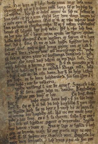 Edda poétique (Codex Regius), <i>Eddukvæði - Sæmundar-Edda</i> (1260-1280)