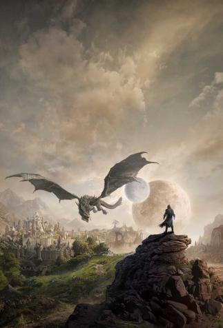 View of Elsweyr, <i>The Elder Scrolls Online: KeyArt</i> (2019)
