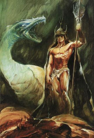 <i>Le Dragon blanc</i>, <i>La Ballade de Pern, 3</i> d'Anne McCaffrey, illustration de Wojtek Siudmak (1989)