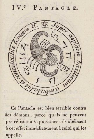 The Magic Pentacle, <i>True Black Magic or The Secret of Secrets</i>, translated by Mage Iroé-Grego (1750)