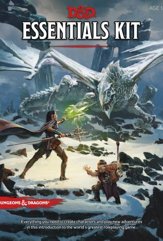 <i>Dungeons & Dragons</i>, <i>Essentials Kit: a perfect introduction to the legendary role-playing game</i> (2019)