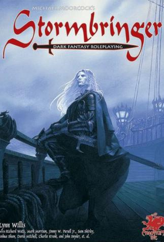 <i>StormBringer</i>, Role-playing game created by Lynn Willis, based on <i>The Elric Saga</i> by Michael Moorcock (2001)