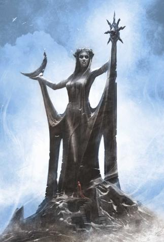 Azura, Daedric Prince(ss) of Dusk and Dawn, <i>The Elder Scrolls V: Skyrim</i> (2011)