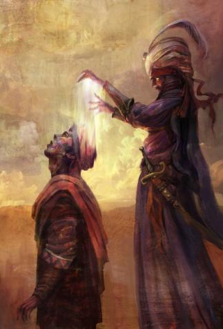 <i>Arcane Intuition</i>, (Fortune Card) <i>Might & Magic: Duel of Champions</i> (2012)