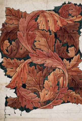 Acanthus, Wallpaper design by William Morris