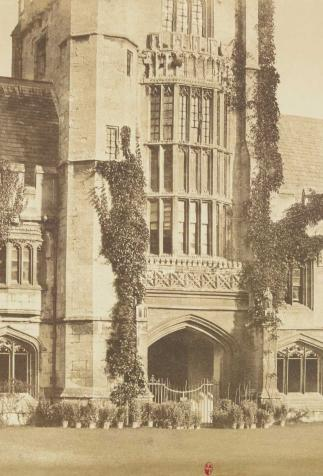 Oxford. Magdalen College, photography attributed to Victor Stribeck (19th century)