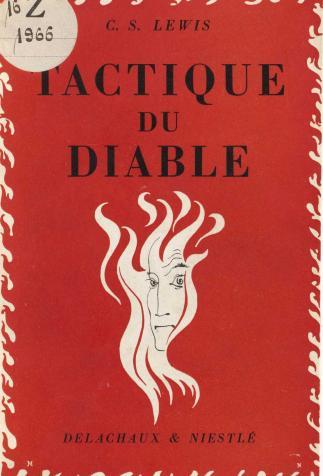 <i>Tactique du diable (The Screwtape Letters)</i>, by C.S. Lewis (1943)