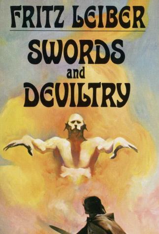 <i>Swords and Deviltry</i>, de Fritz Leiber, couverture illustrée par Jeff Jones (1970)