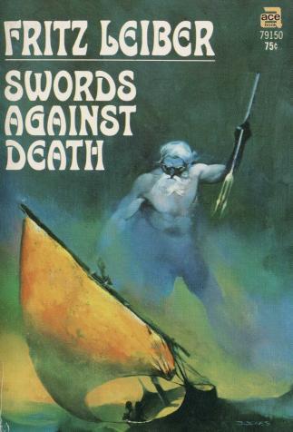 <i>Swords against Death</i>, de Fritz Leiber, couverture illustrée par Jeff Jones (1970)