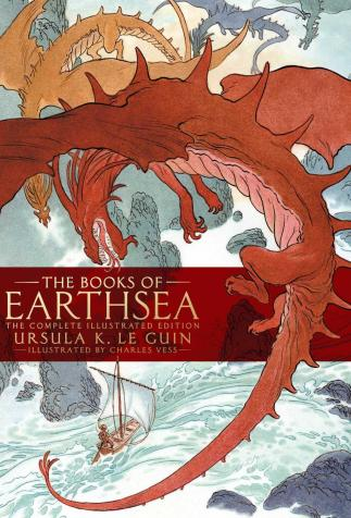 <i>The Books of Earthsea</i>, <i>The Complete Illustrated Edition</i>, by Ursula Le Guin, illustrated by Charles Vess (2018)