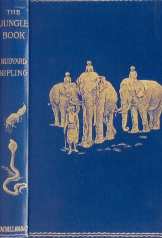 <i>The Jungle Book</i>, by Rudyard Kipling, illustrated by William Henry Drake (1894)