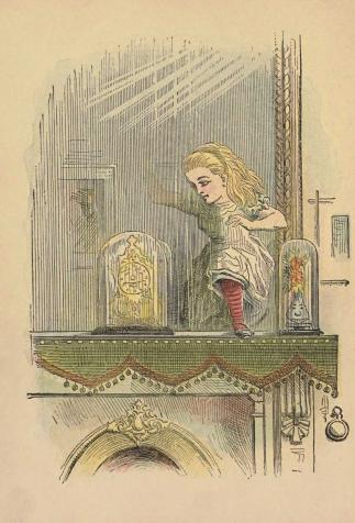 <i>Through the Looking-Glass, and What Alice Found There (De l'autre côté du miroir)</i>, by Lewis Carroll, illustrated by John Tenniel (1899)