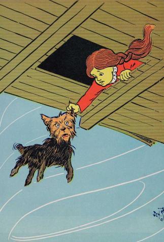 <i>The Wonderful Wizard of Oz</i>, de L. F. Baum, illustré par W. W. Denslow (1900)