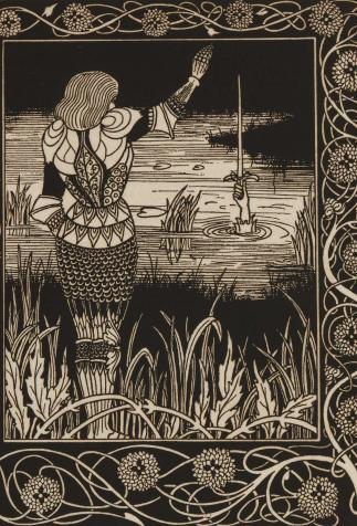 <i>Morte Darthur</i>, <i>The birth life and acts of King Arthur</i>, de Thomas Malory, illustré par Aubrey Beardsley (1893-1894)