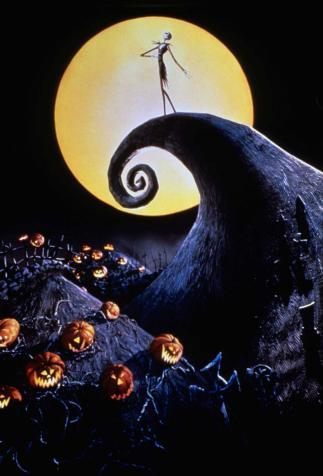 <i>L'Étrange Noël de Monsieur Jack</i>, film d'animation d'Henry Selick d'après un scénario de Tim Burton, Caroline Thompson et Michael McDowell (1993)