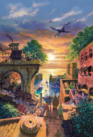 <em>Tales From Earthsea</em>, animated film by Goro Miyazaki after Ursula K. Le Guin's work (2006)