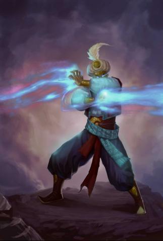 <i>Spell-stealing Sorcerer</i>, <i>Might & Magic, Duel of Champions</i> (2012)