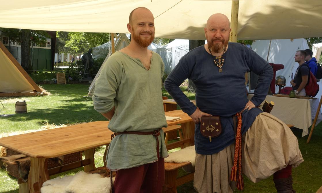 <i>Sons of Midgard</i>, deux marchands varègues vikings au Festival des Imaginales (2019)