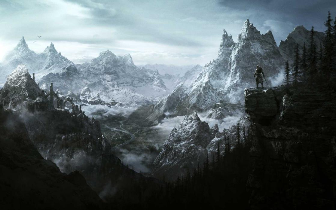 Tamriel Landscape, The Elder scrolls V: Skyrim (2011)