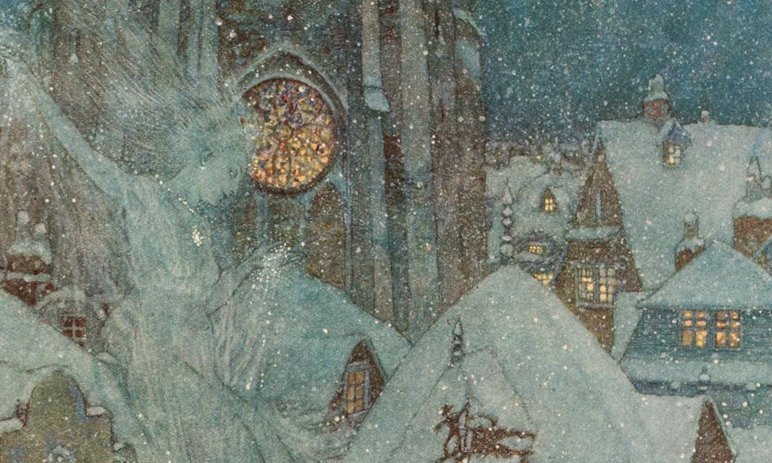 <i>La reine des neiges et quelques autres contes</i>, de Hans Christian Andersen, illustrés par Edmund Dulac (1911)