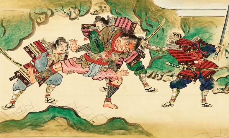 <i>Shutendôji no e</i>, Kanô Yoshinobu Fujiwara Eishin (XVIII<sup>e</sup> siècle)