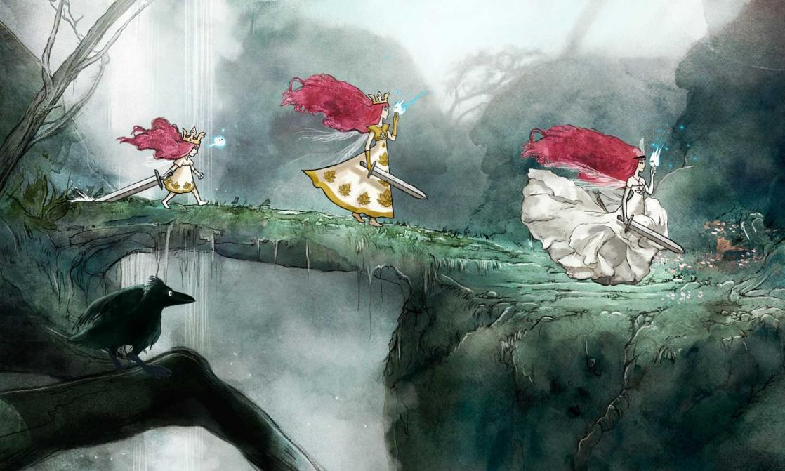 Princesse Aurora, <i>Child of light : Artbook</i> (2014)