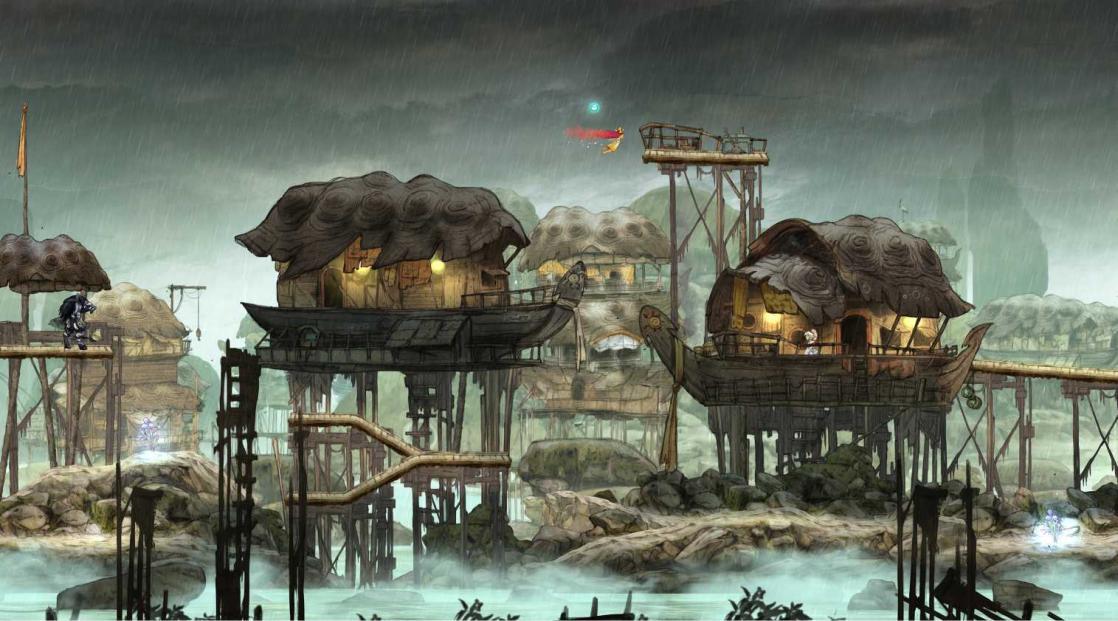Flooded Lands, <i>Child of light: Art Book</i> (2014)
