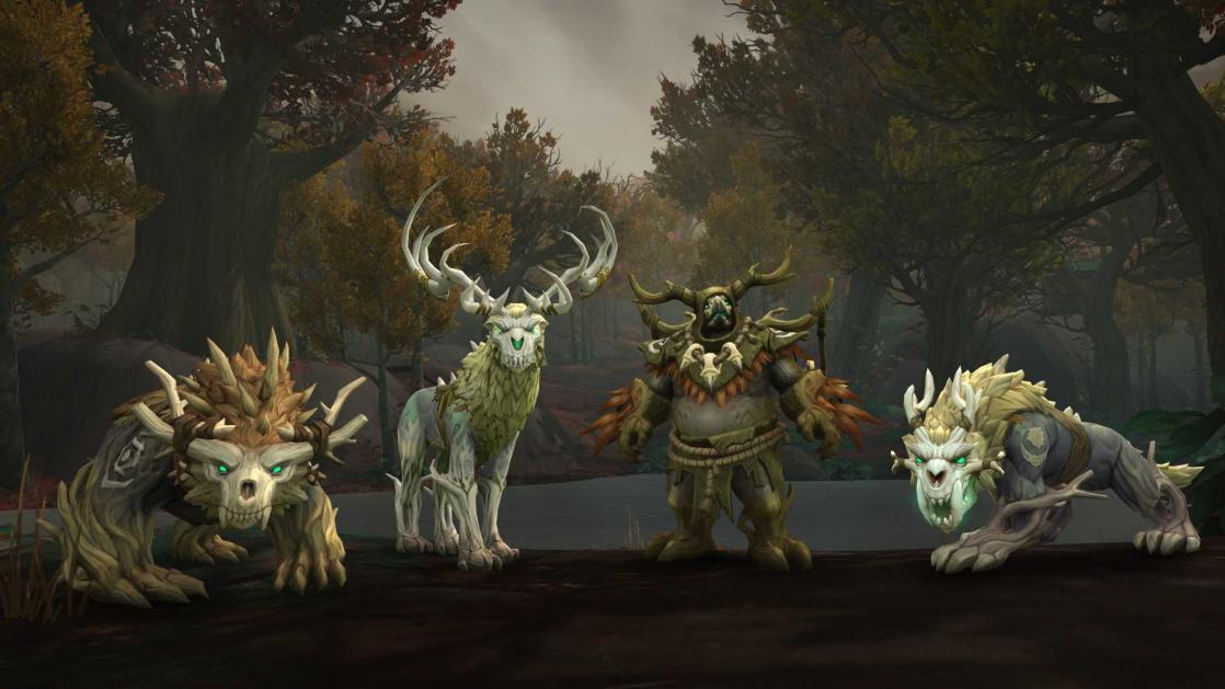 Druids of Kul Tiran, <i>World of Warcraft : Battle for Azeroth</i> (2018)