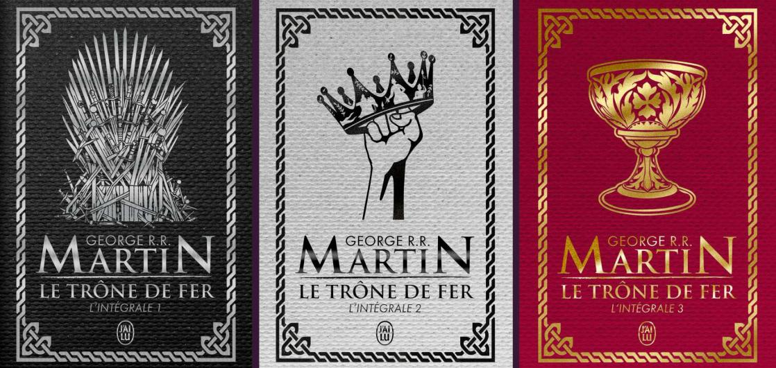<i>Le Trône de fer (Game of Thrones)</i>, <i>The Complete Collection: Volumes 1, 2 and 3</i>, by Georges R.R Martin (2019)