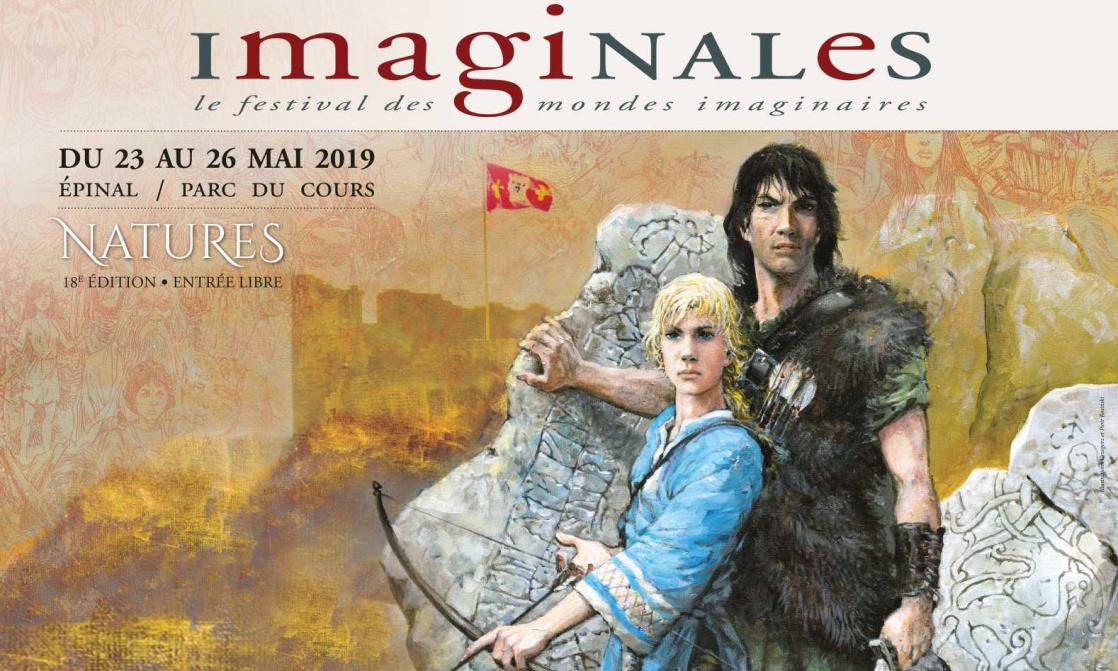 Imaginales, Le festival des mondes imaginaires, affiche 2019