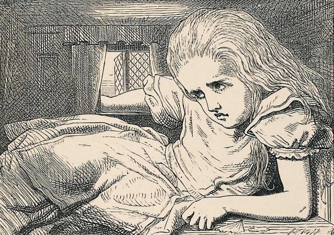 <i>Aventures d'Alice au pays des merveilles</i> de Lewis Carroll, illustré par John Tenniel (1869)