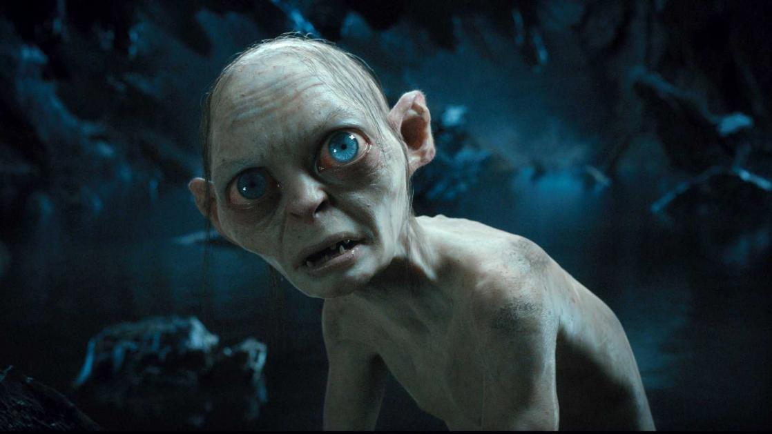 Gollum in <i>The Lord of the Rings: The Return of the King</i>, film by Peter Jackson based on the novel by J. R. R. Tolkien (2003)