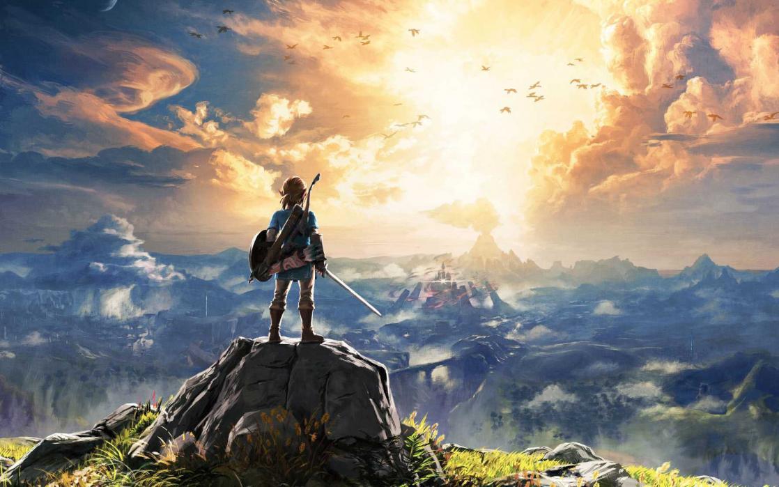 <i>The Legend of  Zelda</i>, <i>Breath of the Wild</i>, Key Art (2017)