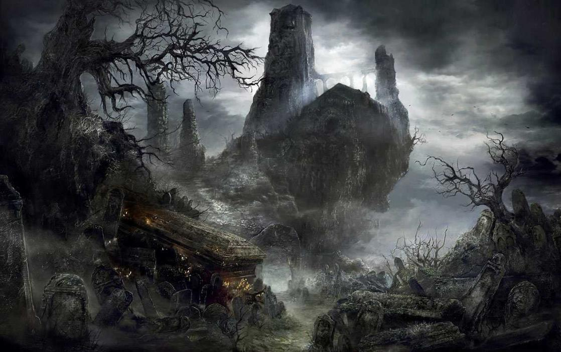 <i>Cemetery of Ash</i>, <i>Dark Souls 3</i>, Key Art (2016)