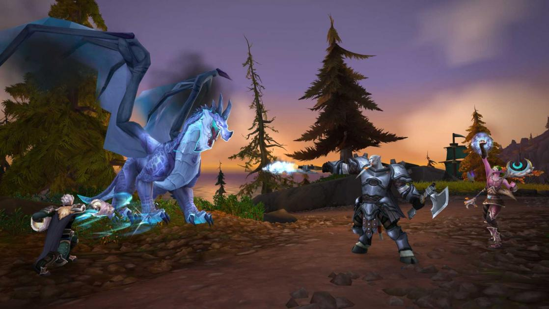 Fight in Jorundall Island, <i>World of Warcraft, Battle for Azeroth (Tides of Vengeance)</i> (2018)