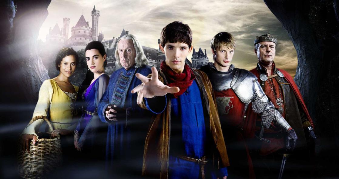 <i>Merlin</i>, série télévisée britannique crée par Julian Jones, Jake Michie, Johnny Capps et Julian Murphy (2008 à 2012)