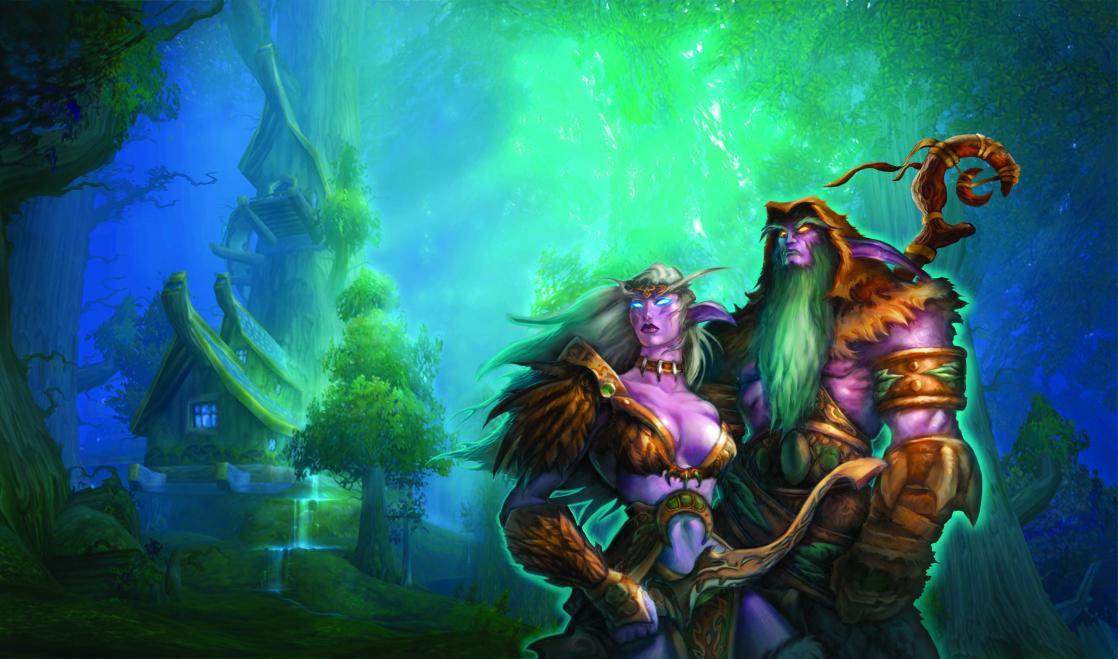 Night Elves, <i>The Art of World of Warcraft</i> (2004)