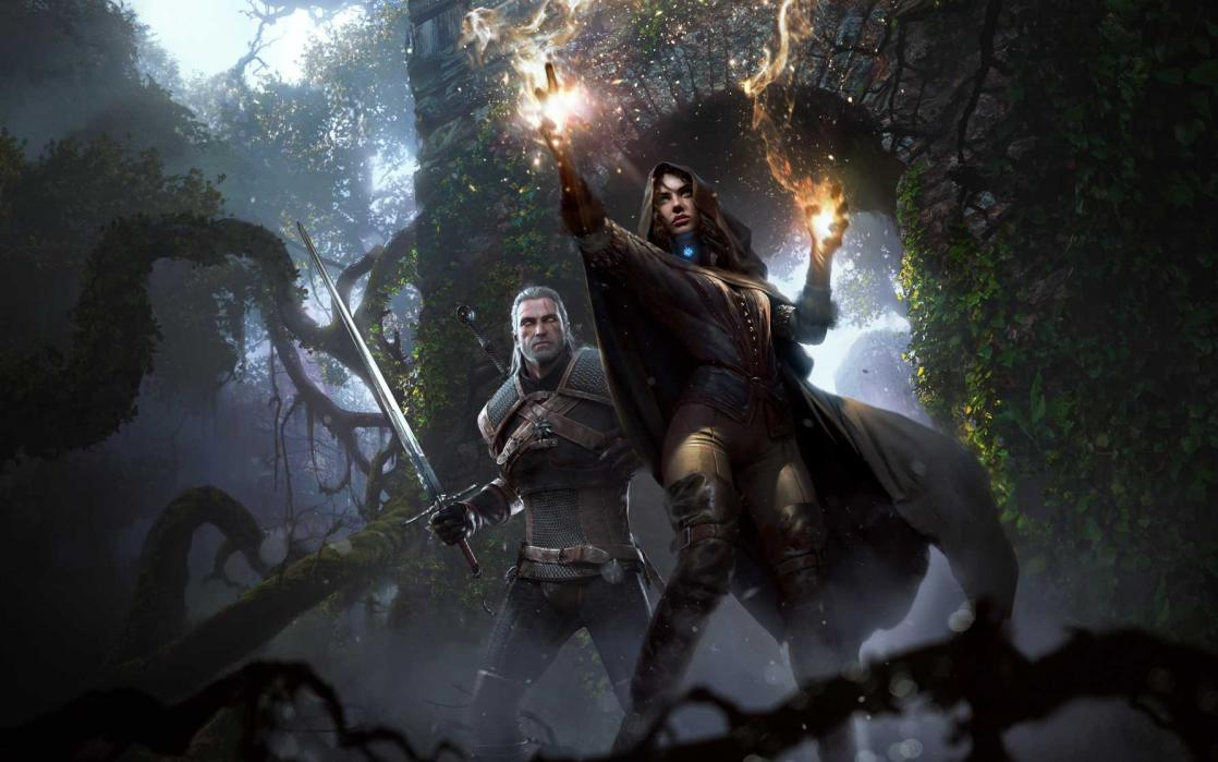 Yennefer et Geralt, <i>The Witcher 3 : Wild Hunt</i> (2015)