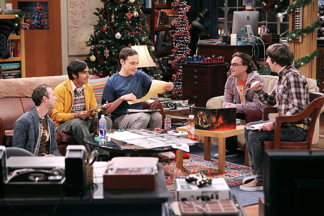 <i>The Big Bang Theory</i>, american television series created by Chuck Lorre and Bill Prady (2007 à 2019)