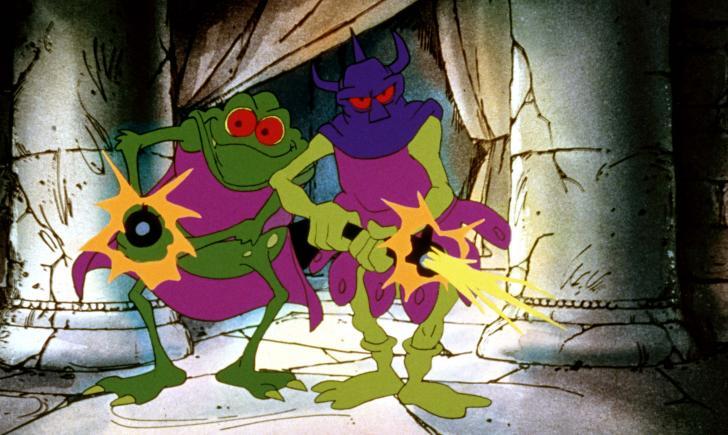 <i>Les Sorciers de la Guerre (Wizards)</i>, film d'animation de Ralph Bakshi (1977)