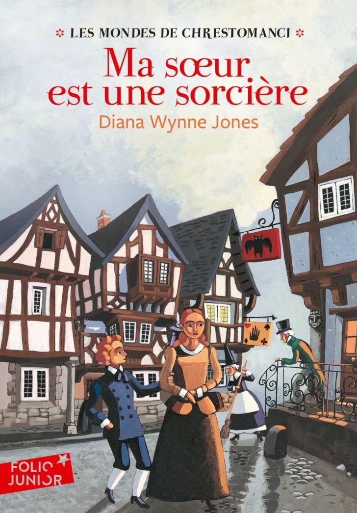 <i>Ma sœur est une sorcière (Charmed Life)</i>, <i>Les Mondes de Chrestomanci (The Worlds of Chrestomanci)</i>, by Diana Wynne Jones, cover illustration by Marcelino Truong (2007)