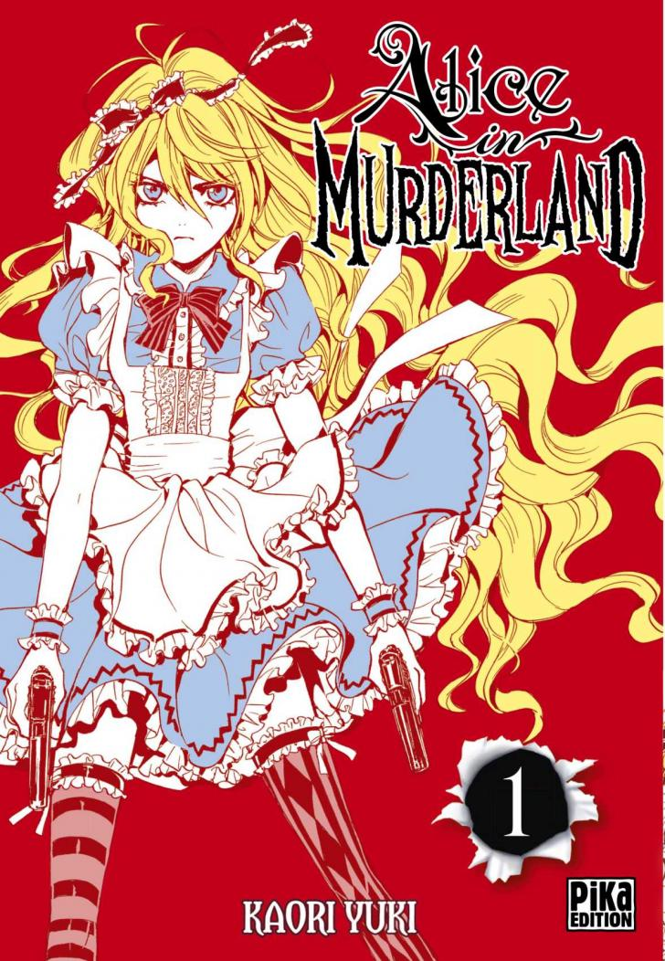 <i>Alice in Murderland</i>, écrit et illustré par Raori Yuki (2016)