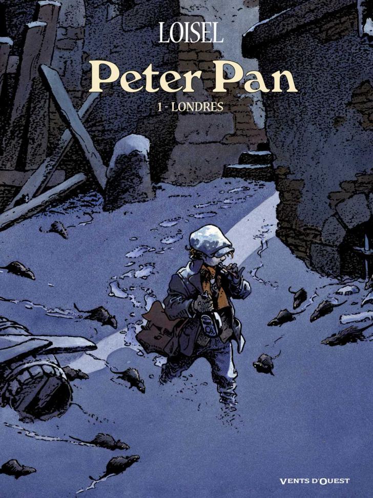 <i>Londres, Peter Pan, 1</i>, roman graphique écrit et illustré par Régis Loisel d'après l'œuvre de J.M. Barrie (2012)