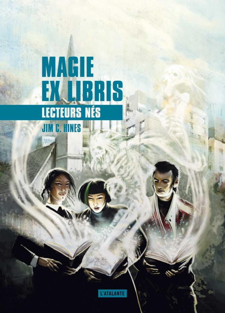 <i>Lecteurs nés</i>, <i>Magie ex libris, 2</i> de Jim C. Hines (2017)